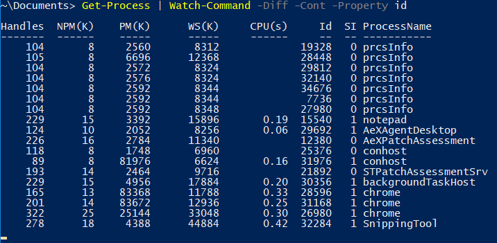 Watch-Command: a PowerShell cmdlet to monitor and wait for changes