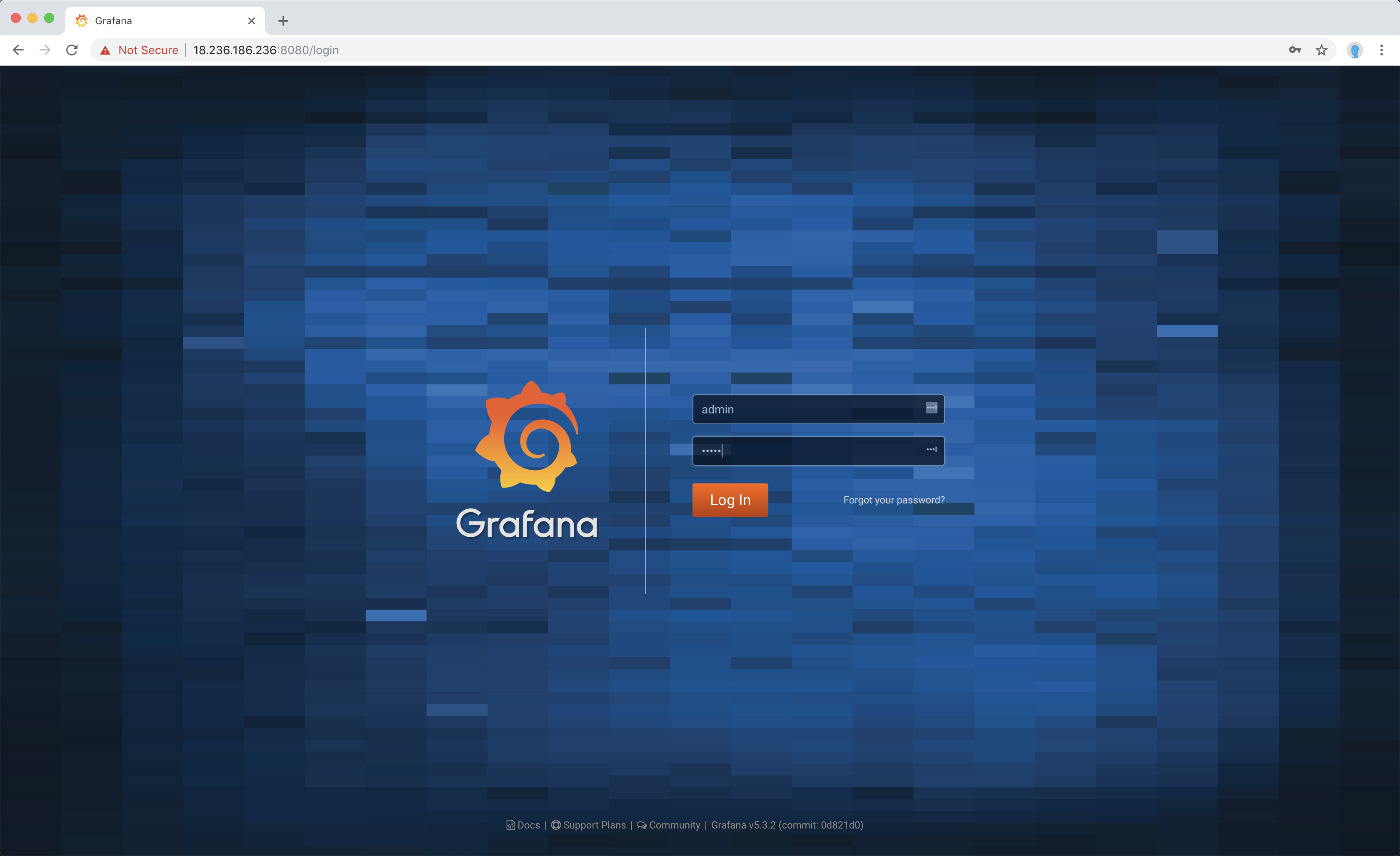 Deploying Influx and Grafana on Windows with Terraform